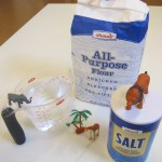 Salt dough safari