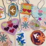 Laminated pendants