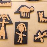Cork printing plates