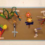 Mini sculpture gallery