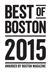 Boston Magazine's Best of Boston 2015