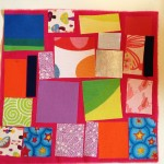 Fusible fabric quilting