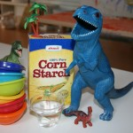 Cornstarch and water play