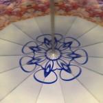 Hinged mirror kaleidoscope