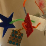 Pipe cleaner sculptures