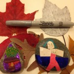 Fall mobiles and story stones