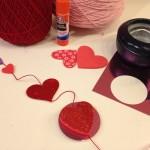 Valentine's Day garlands