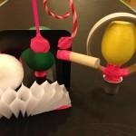 Magnetic sculptures