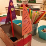 Recycled box boats