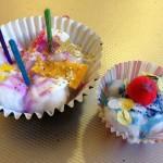 """""""Baking"""" cupcakes"""