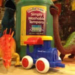 Paint dinos, trains, and cars