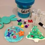 Model magic ornaments