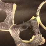Circle printing at the easel