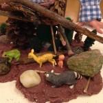 Playdough and nature