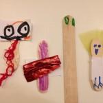 Craft-stick puppets