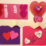 Valentines card making