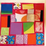 Quilt making with fusible fabric