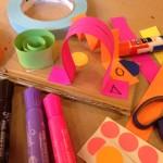 Paper strip construction