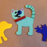 Decorating paper pets