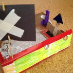 Building boats from up-cycled materials