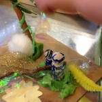 Recycle craft meets nature craft