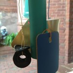 Up-cycled wind chimes and mobiles