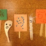 Mini Halloween puppets