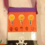 Up-cycled trick-or-treat bags