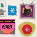 Laminated charms and ornaments