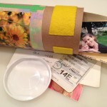 Collaged time capsules