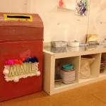 Mail-making station
