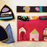 Fusible fabric cards, quilts, patches
