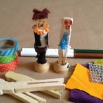 Clothespin doll passengers