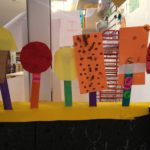 Decorating the collaborative ice cream shop