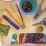 Laminated back-to-school bookmarks