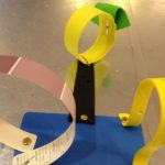 Foam and paper sculptures