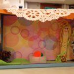 Family gathering dioramas