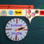 Recycle craft control panels