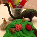 Dinos and dough