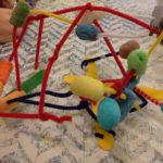 Sculpture with pipe cleaners and more
