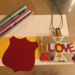 Mother's Day cards, badges, and medals
