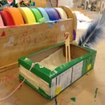 Recycle craft pull toys
