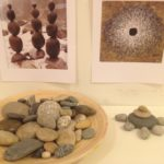 Andy Goldsworthy-inspired stone sculptures
