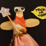 Clothespin trick or treat-ers!