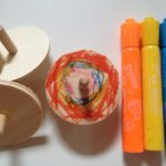 Decorating spinning tops