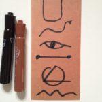 Hieroglyphics for the pyramid
