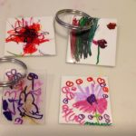Shrinky dinks for keychains