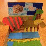 Habitats for paper animals