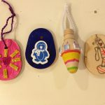Decorating wooden shapes