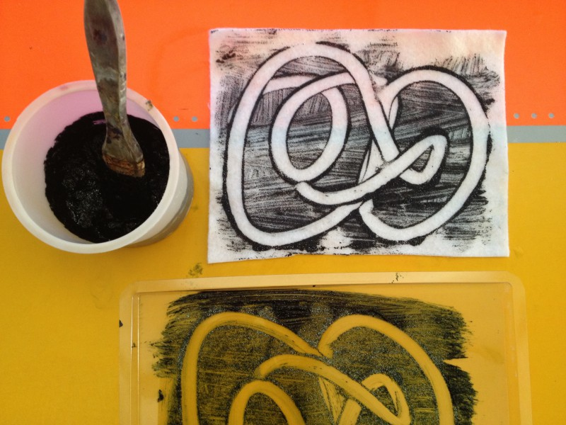 Paint, Print, Sculpt for 4-5s: Tuesdays at 1:00 (Early Winter 2021)